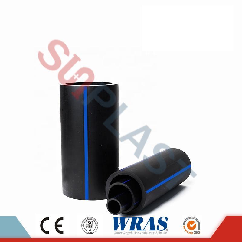 Μαύρο σωλήνα HDPE