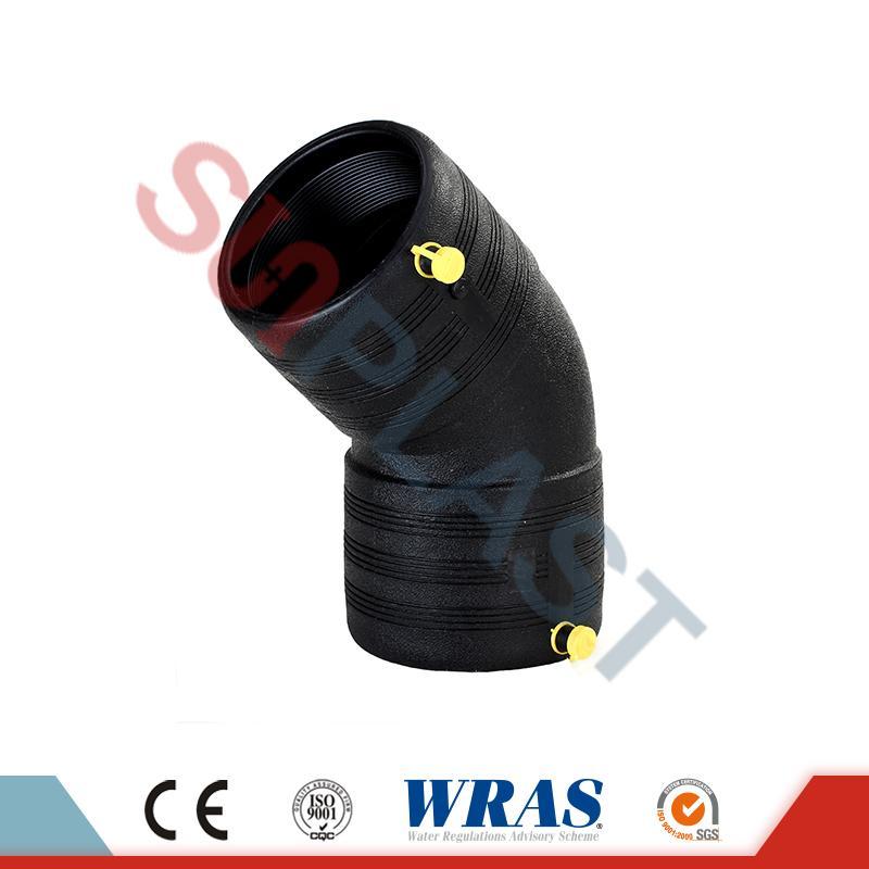 Σωλήνας 45 βαθμών ηλεκτροδιαφυγής HDPE