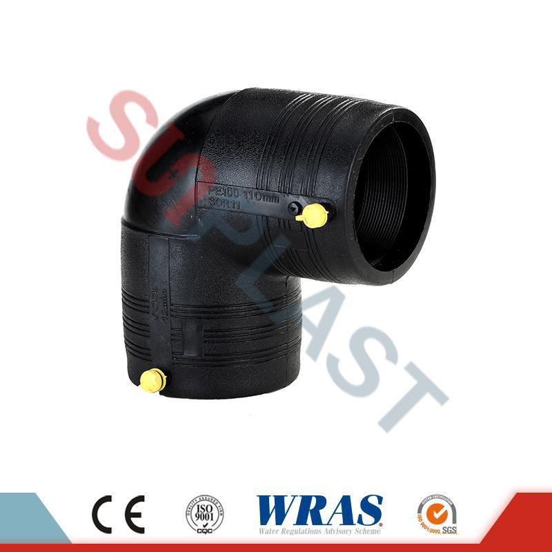 HDPE ηλεκτροδιάσπαση 90 βαθμών