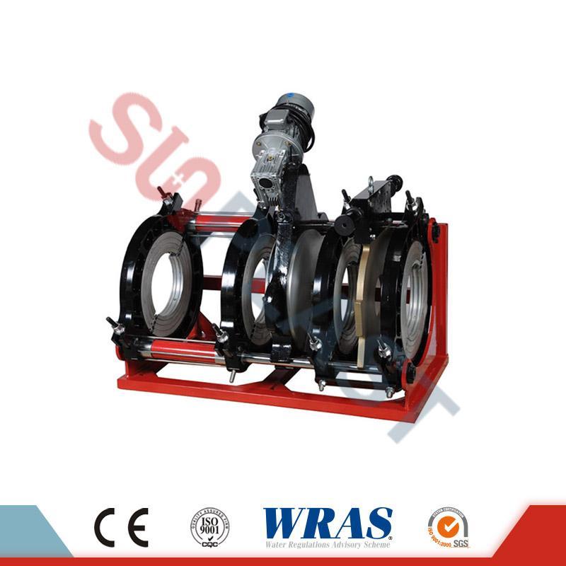 280-450 χιλιοστά υδραυλική συγκόλληση συγκόλλησης Butt μηχάνημα για σωλήνα HDPE