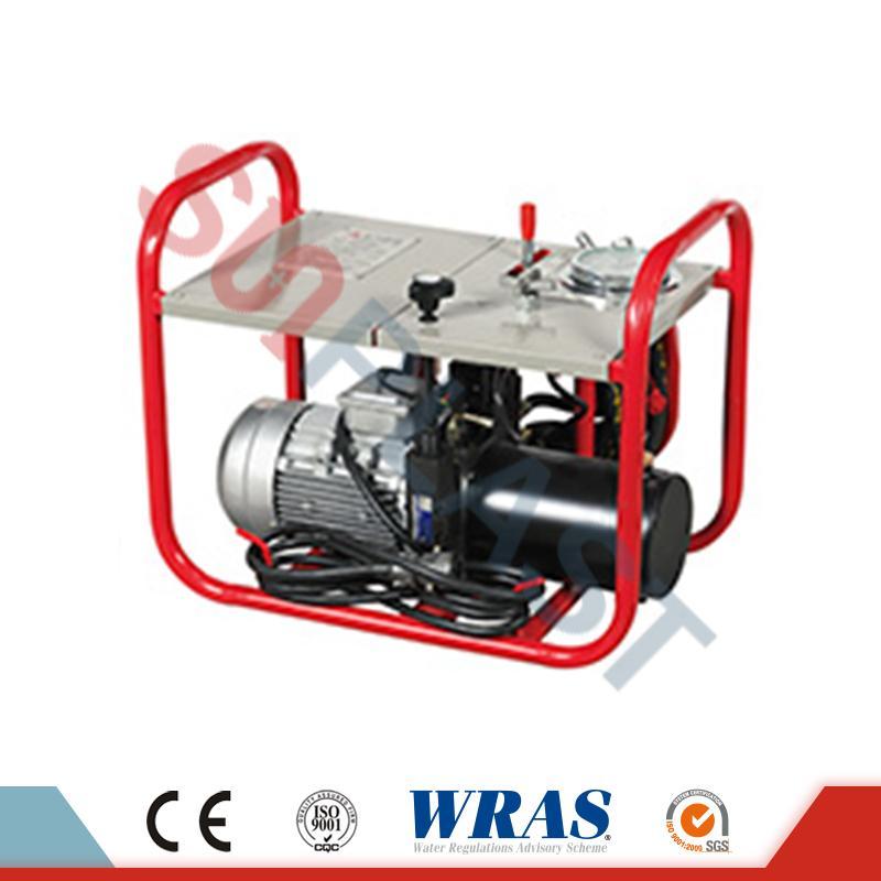 63-160 χιλιοστά Υδραυλική συγκόλληση συγκόλλησης Butt μηχάνημα για σωλήνα HDPE