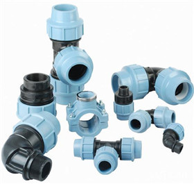 PP ντοompression Fittings PN16